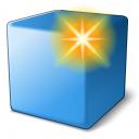 Cube Blue New Icon 128x128