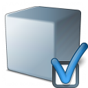 Cube Grey Preferences Icon 128x128