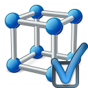 Cube Molecule Preferences Icon 128x128