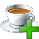 Cup Add Icon 128x128