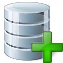 Data Add Icon 128x128
