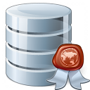 Data Certificate Icon 128x128
