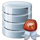Data Certificate Icon 128x128