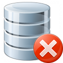 Data Error Icon 128x128