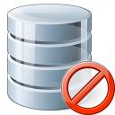 Data Forbidden Icon 128x128