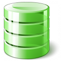 Data Green Icon 128x128
