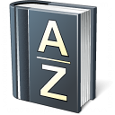 Dictionary Icon 128x128