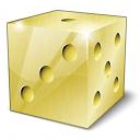 Die Gold Icon 128x128