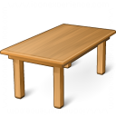 Dining Table Icon 128x128