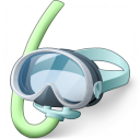 Diving Mask Icon 128x128