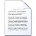 Document Icon 128x128