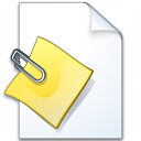 Document Attachment Icon 128x128
