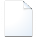 Document Plain Icon 128x128