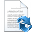 Document Refresh Icon 128x128