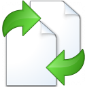 Documents Exchange Icon 128x128
