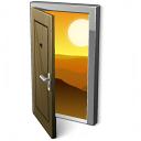 Door 2 Open Icon 128x128