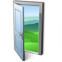 Door Open Icon 128x128