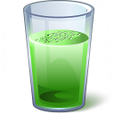 Drink Green Icon 128x128