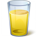Drink Yellow Icon 128x128