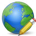 Earth Edit Icon 128x128
