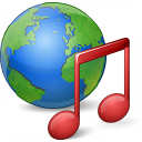 Earth Music Icon 128x128