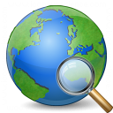 Earth View Icon 128x128