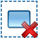 Element Selection Delete Icon 128x128