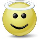 Emoticon Angel Icon 128x128