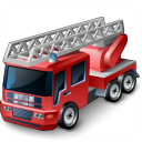 Fire Truck Icon 128x128