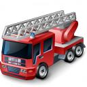 Fire Truck Icon 128x128