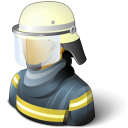 Firefighter Icon 128x128