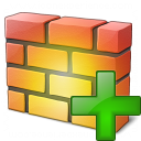 Firewall Add Icon 128x128
