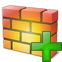 Firewall Add Icon 128x128