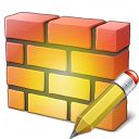 Firewall Edit Icon 128x128
