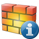 Firewall Information Icon 128x128
