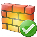 Firewall Ok Icon 128x128