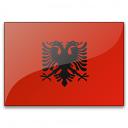 Flag Albania Icon 128x128
