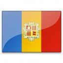 Flag Andorra Icon 128x128