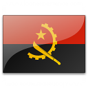 Flag Angola Icon 128x128