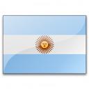 Flag Argentina Icon 128x128