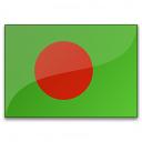 Flag Bangladesh Icon 128x128