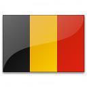 Flag Belgium Icon 128x128