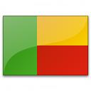 Flag Benin Icon 128x128