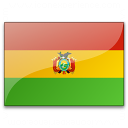 Flag Bolivia Icon 128x128