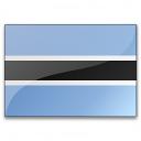 Flag Botswana Icon 128x128