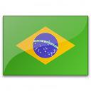 Flag Brazil Icon 128x128