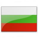 Flag Bulgaria Icon 128x128
