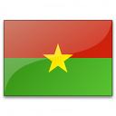 Flag Burkina Faso Icon 128x128