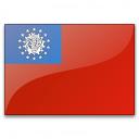 Flag Burma Icon 128x128
