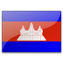 Flag Cambodia Icon 128x128